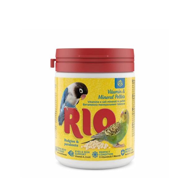 Витаминно минеральные гранулы RIO, для волнистых