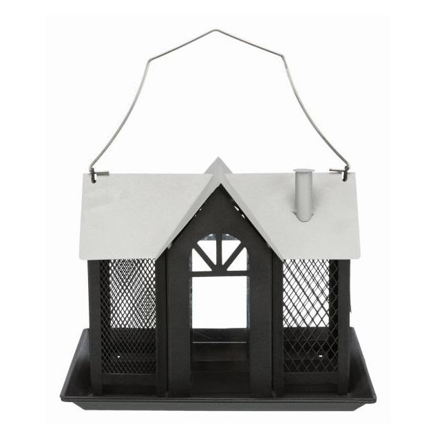 Кормушка уличная Trixie Villa, 26x19x19 см, чёрный