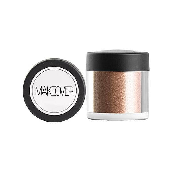 Рассыпчатые тени Makeover Paris Star Powder Gold