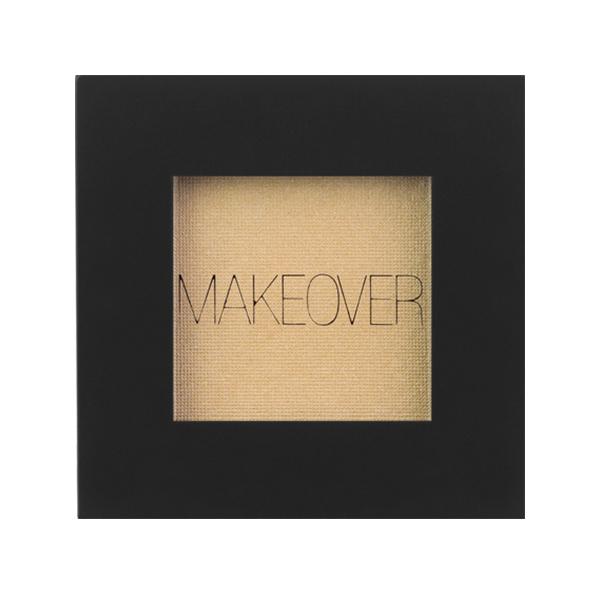 Тени для век Makeover Paris Single Eyeshadow Tan Beige Shimmer