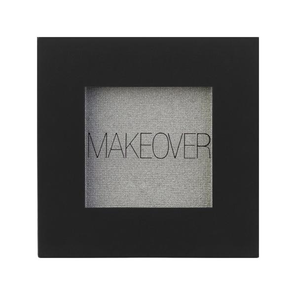 Тени для век Makeover Paris Single Eyeshadow Silver Shimmer