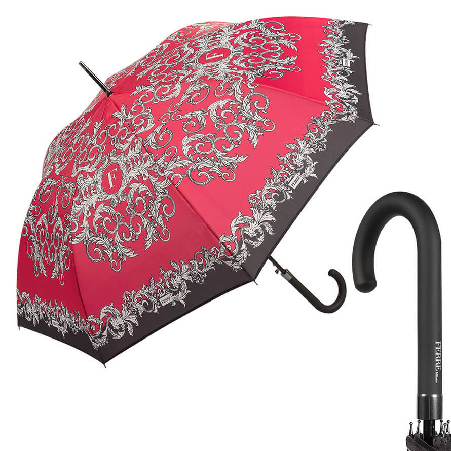 Зонт-трость Ferre Milano 300-LA Design Red фото