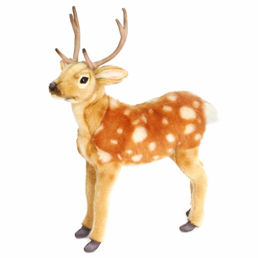 Купить Мягкая игрушка Hansa Пятнистый олененок, 35 см 5856, Мягкие игрушки животные