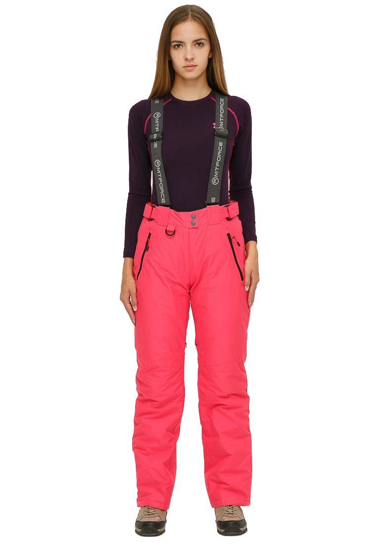 Спортивные брюки MtForce 906R, розовые, 50 RU