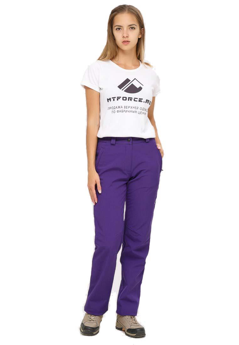 Спортивные брюки MtForce 1851F, фиолетовые, 48 RU