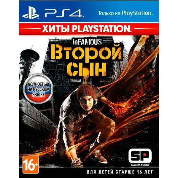 Игра inFamous: Второй сын (Хиты PS) для PlayStation 4 фото