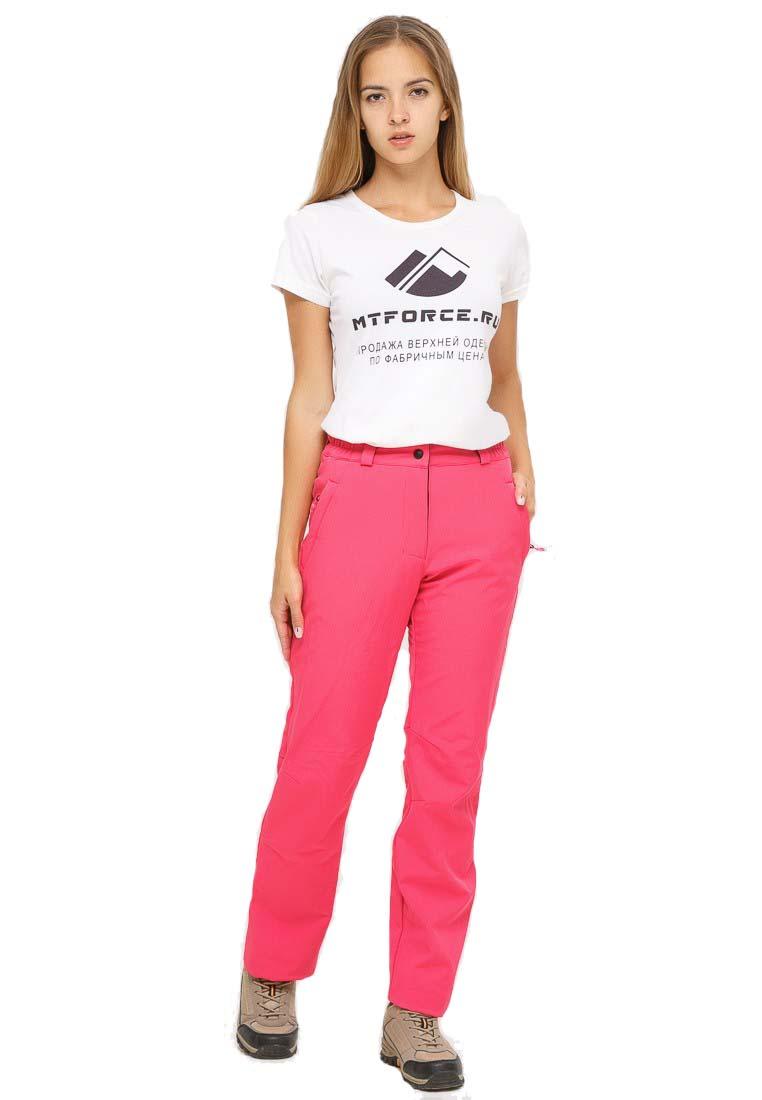Спортивные брюки MtForce 1851R, розовые, 44 RU