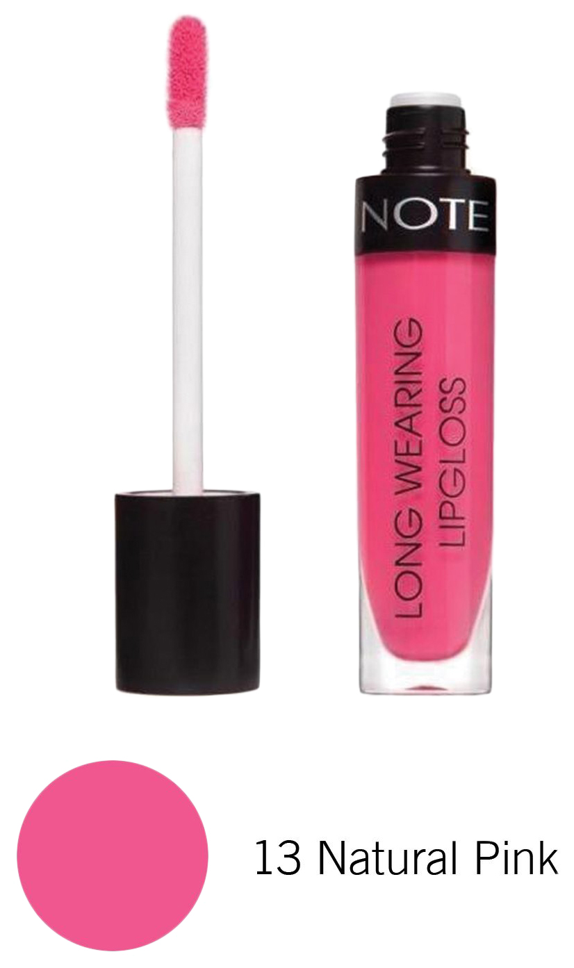 Купить Блеск для губ Note Long Wearing тон 14 Natural Pink