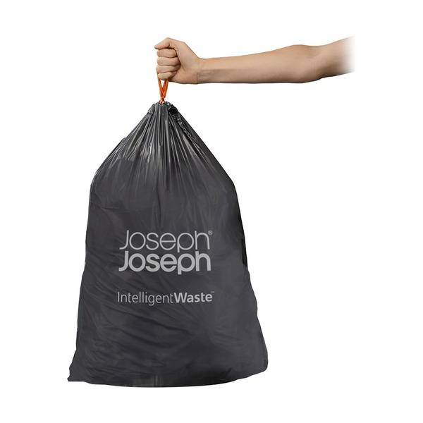 Пакеты Joseph Joseph для мусора IW6 экстра прочные 30 л 20 шт