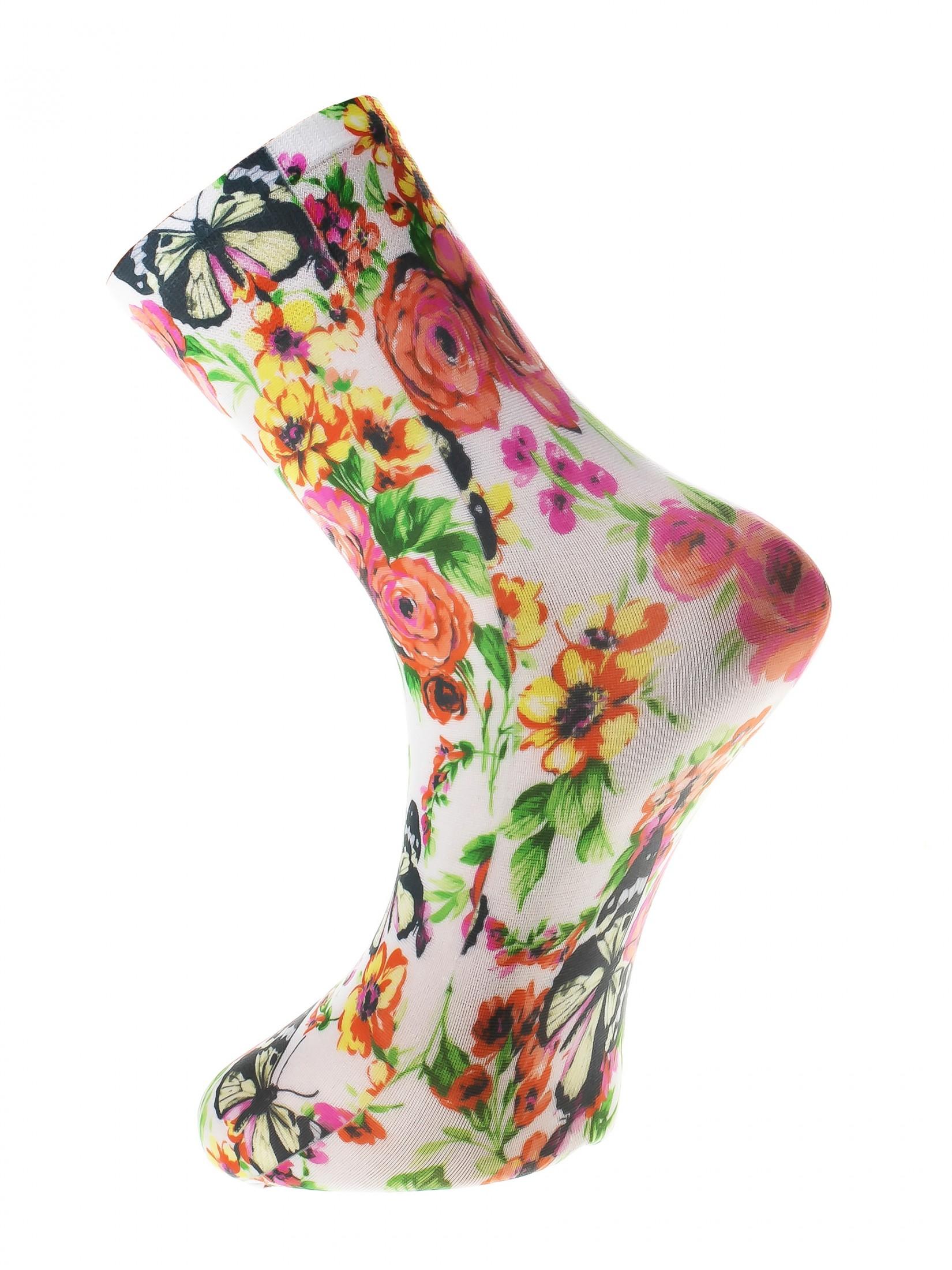 Носки женские Mademoiselle Tartu (c.) разноцветные UNICA