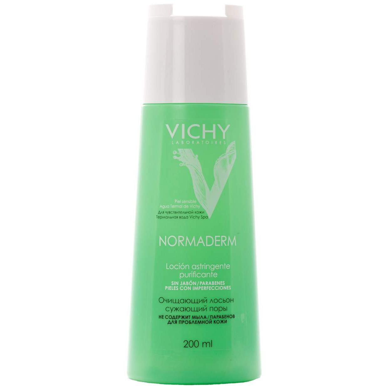 Очищающий и сужающий поры лосьон Vichy Нормадерм, 200мл фото
