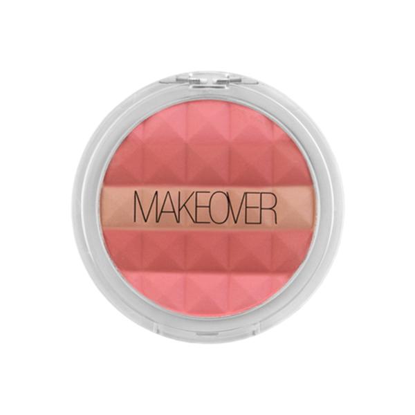 Компактные румяна Makeover Paris Pink Cheek Glow Mosaic