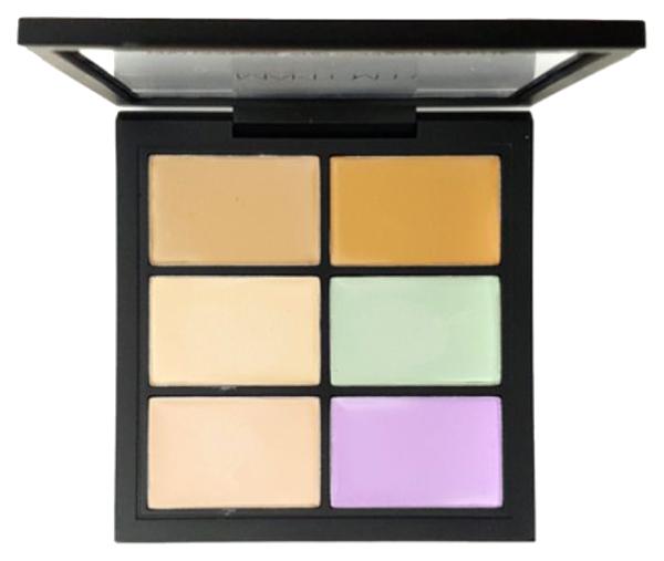Палетка для коррекции лица Makeover Paris Pro Conceal And Correct Creative Concealer