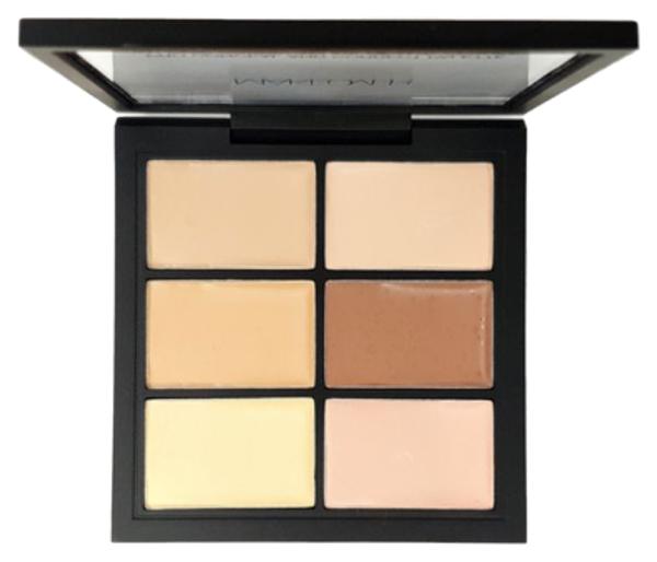 Палетка для коррекции лица Makeover Paris Pro Conceal And Correct Light-Clair