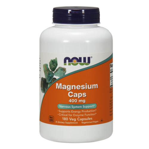 Магний NOW Magnesium 400 мг капсулы