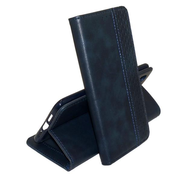 Чехол Epik Business Wallet для Xiaomi Redmi Note 8 Dark Blue