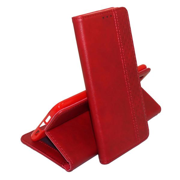 Чехол Epik Business Wallet для Xiaomi Redmi Note 8 Red