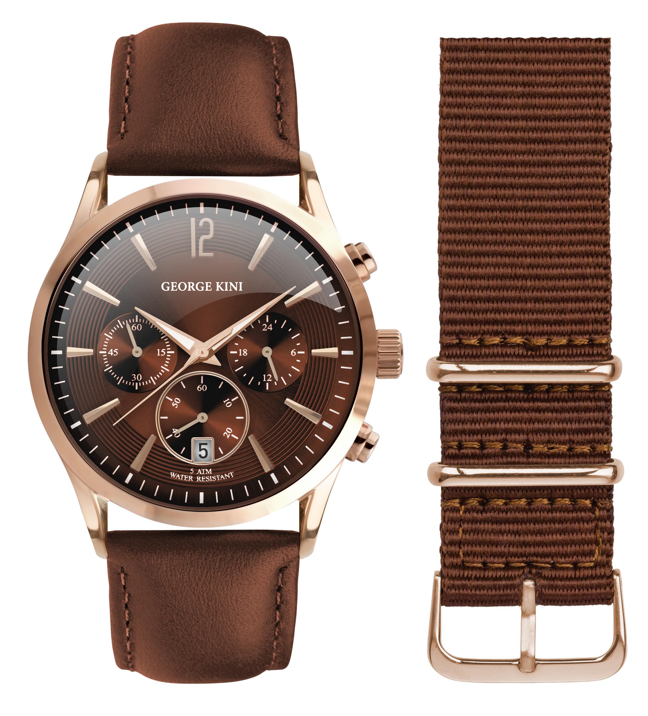 Наручные часы мужские George Kini GK.12.3.6R.112