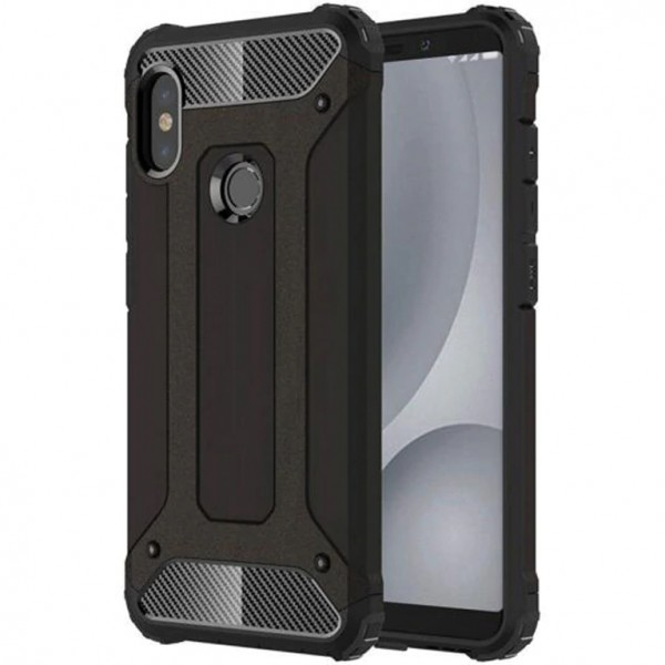 Чехол Epik Immortal для Xiaomi Redmi Note 6 Pro Black