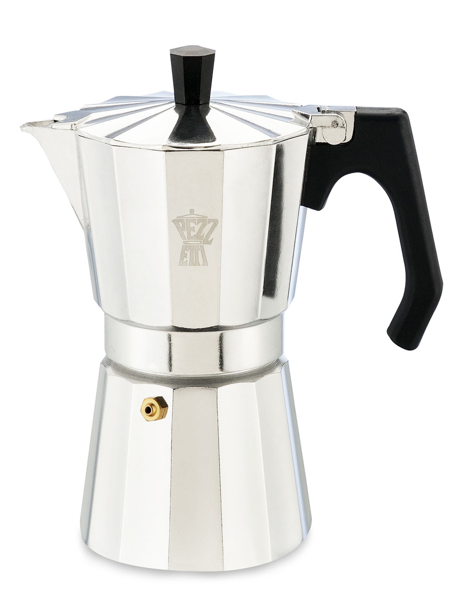 Гейзерная кофеварка PEZZETTI LUXEXPRESS на 6 порции фото