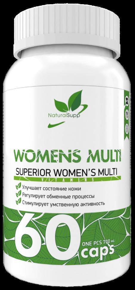 Купить Витаминно-минеральный комплекс NATURALSUPP Womens Multi (60 капсул)