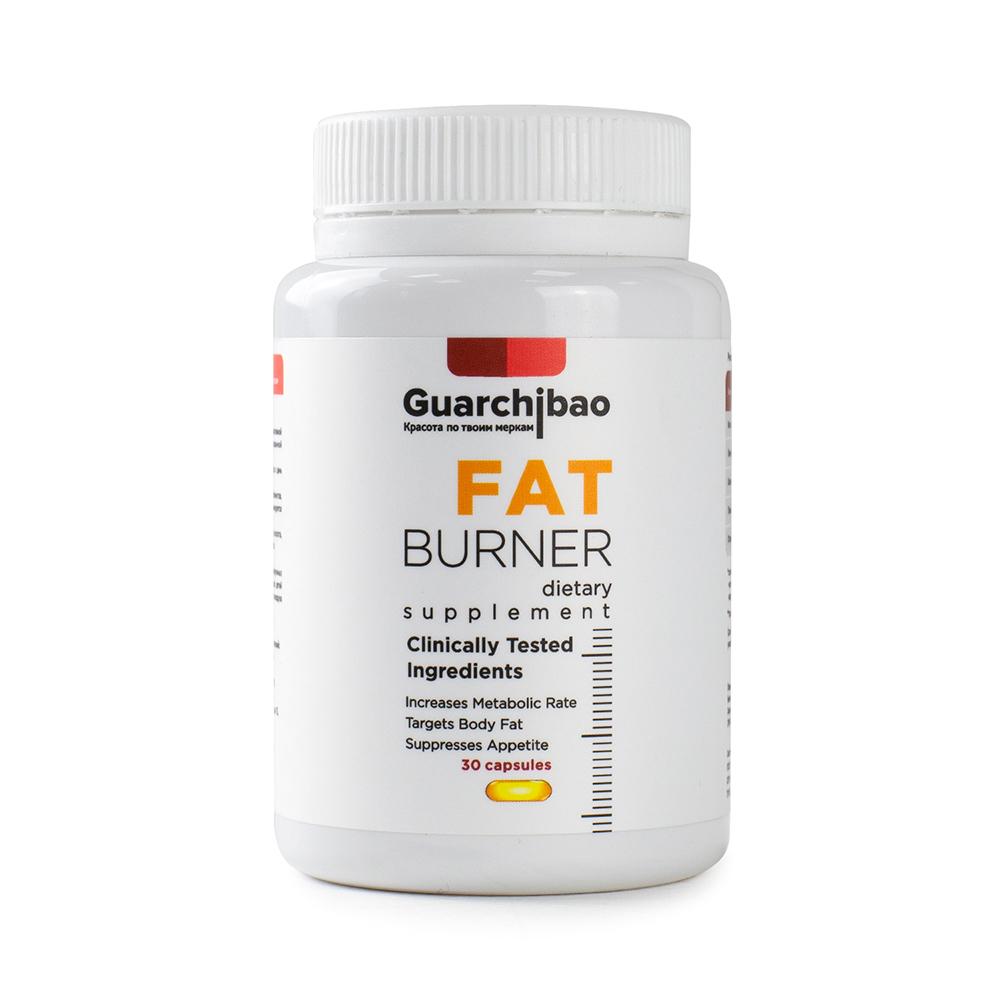 Жиросжигатель Guarchibao Fat Burner 30 капсул unflavoured фото