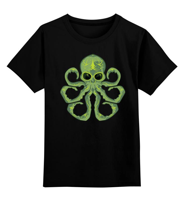 Детская футболка Printio Ктулху цв.черный р.152 0000000764673 по цене 990