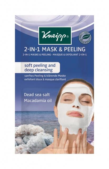 Очищающая маска скраб 2в1 Kneipp с солью