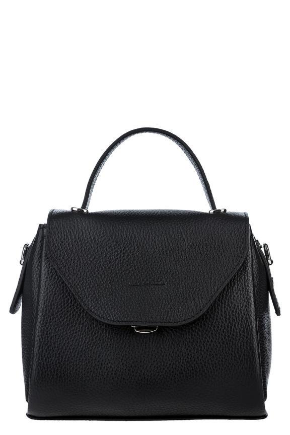 Маленькая кожаная сумка со съемным плечевым ремнем, б/р 460