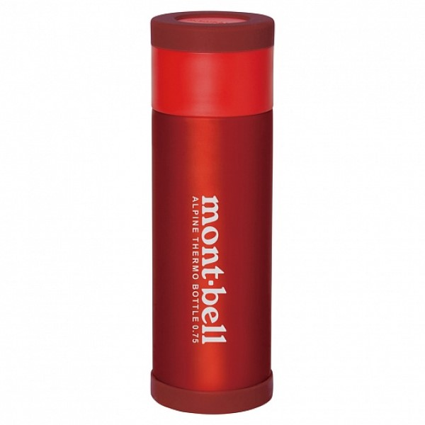 MontBell термос Alpine Thermo Bottle 0.75L RD