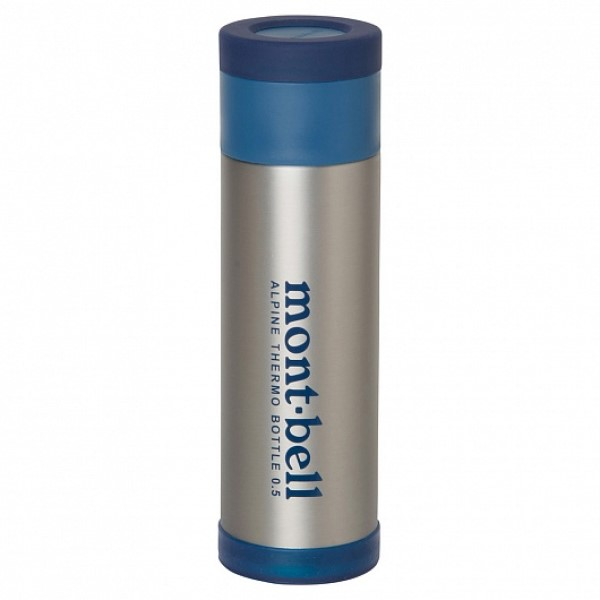 MontBell термос Alpine Thermo Bottle 0.5л STNLS