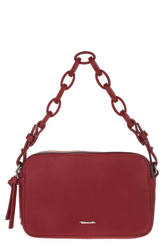 Красная сумка со съемным плечевым ремнем, б/р