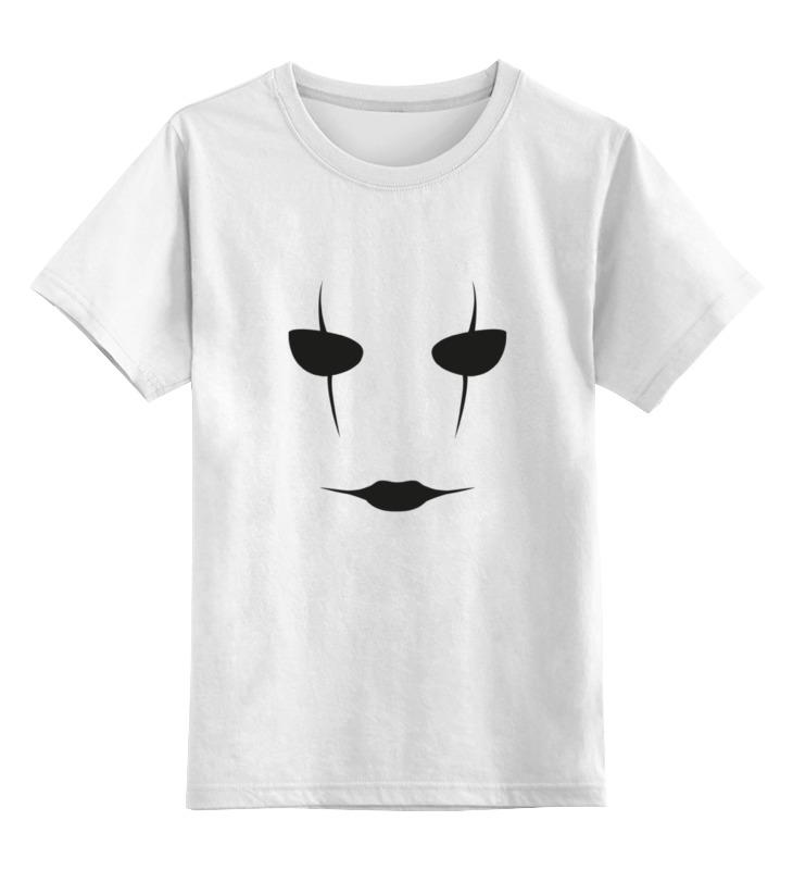 Купить 0000000763740, Детская футболка Printio Ворон the crow цв.белый р.164,