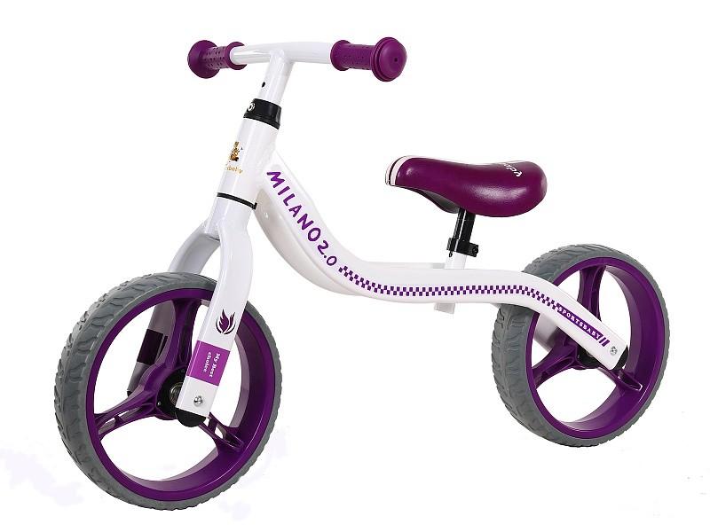 Купить Беговел Sportsbaby Milano 2.0 фиолетовый, Беговелы