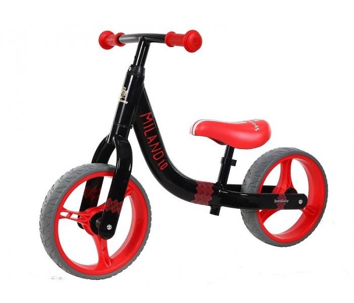 Беговел Sportsbaby Milano 1.0 черно красный