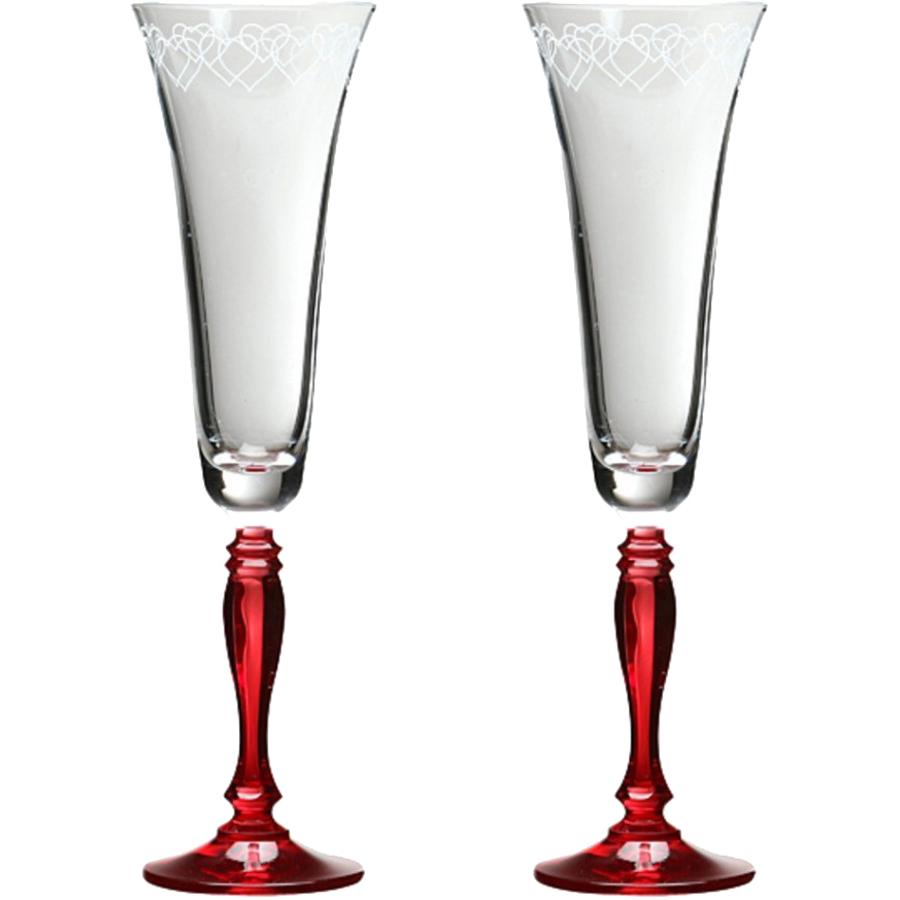 Набор бокалов для шампанского из 2 шт.180