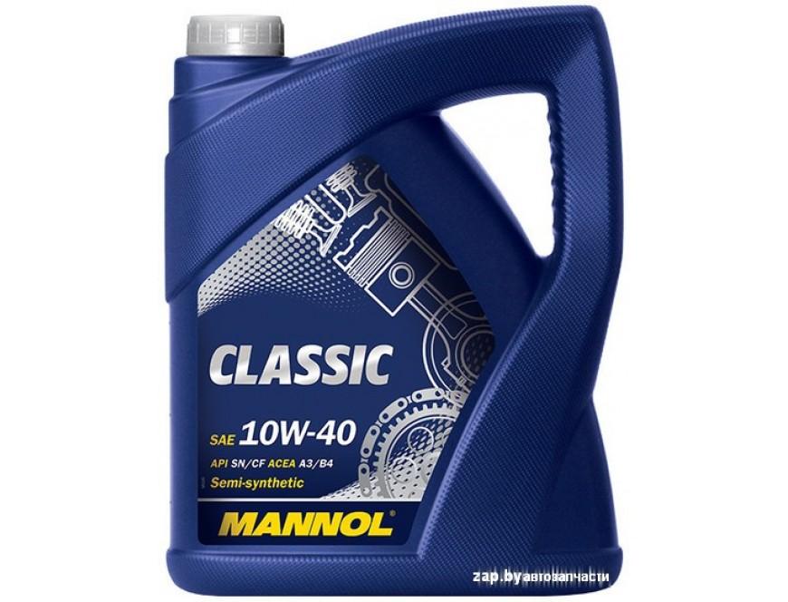 MANNOL Масло Моторное Mannol Classic 10w40 П/Синт
