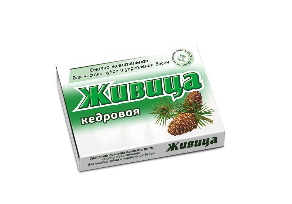 Купить Смолка жевательная таблетки Живица, кедровая 0, 8 г 5 шт.