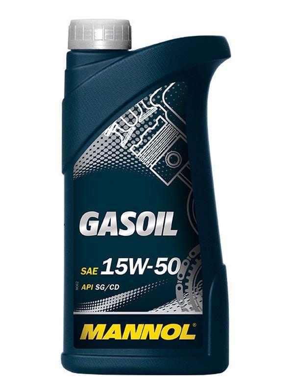 Mannol Gasoil 15w50 1 л. минеральное моторное
