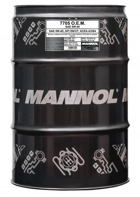 7713 MANNOL O.E.M. for KOREAN CARS
