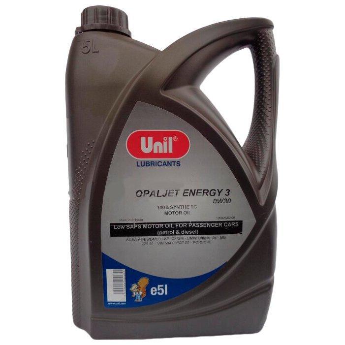 UNIL Unil Масло Моторное Opaljet Energy