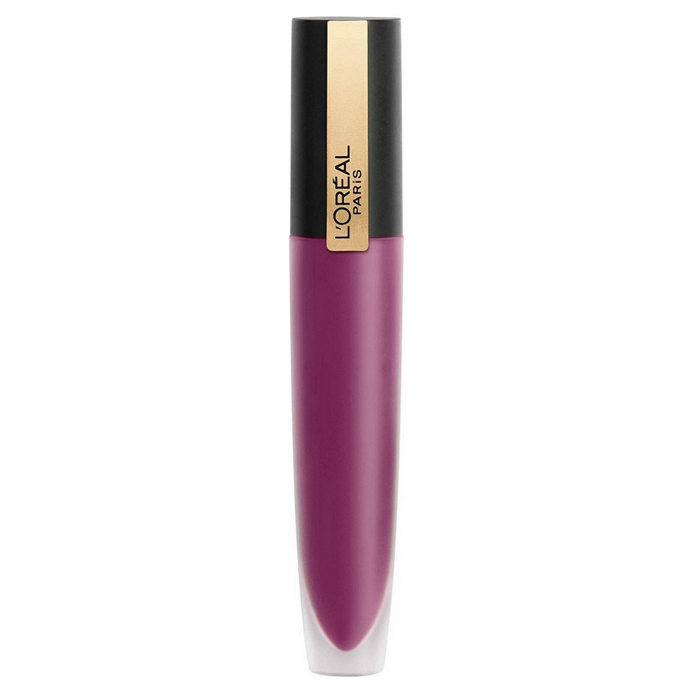 Купить Помада L'Oreal Rouge Signature Matte Liquid Lipstick 104 Я бунтую 7 мл, L'Oreal Paris