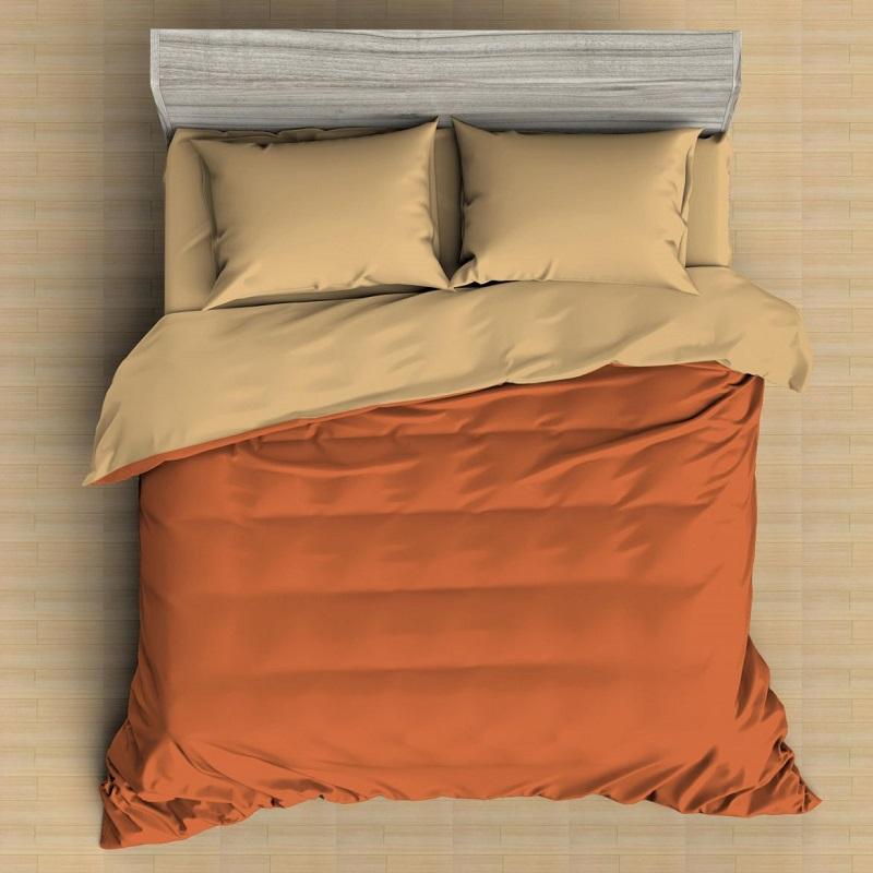 Комплект постельного белья двуспальный-евро Amore Mio, Яшма 9820
