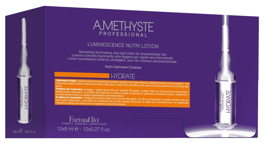 Лосьон для волос FarmaVita Amethyste Hydrate Luminescence