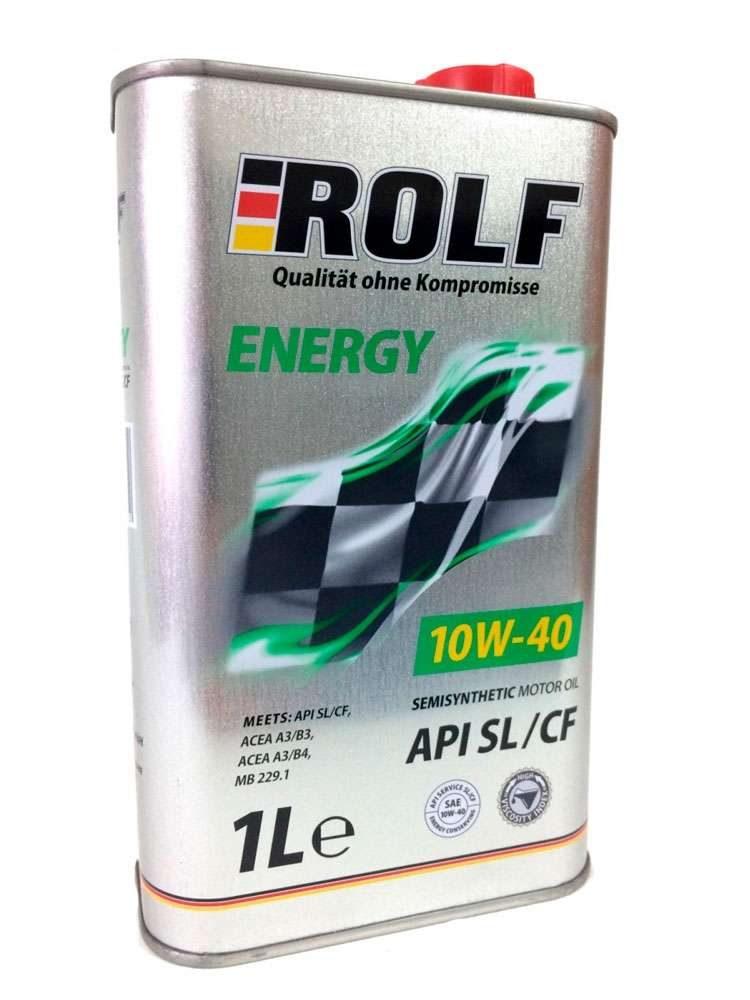 Моторное масло ROLF Energy SAE 10W