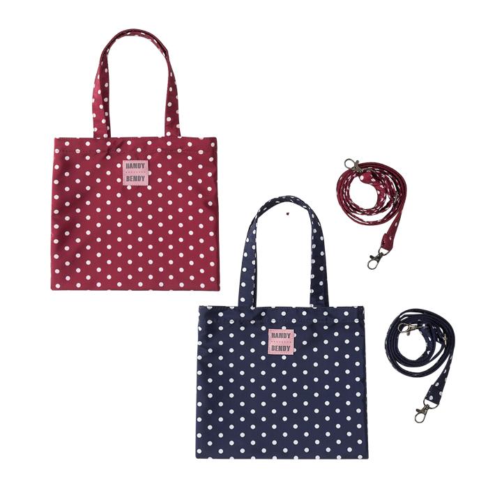 Купить Detskie 2, Комплект из 2 маленьких сумок Handy Bendy, в горох, Детские сумки