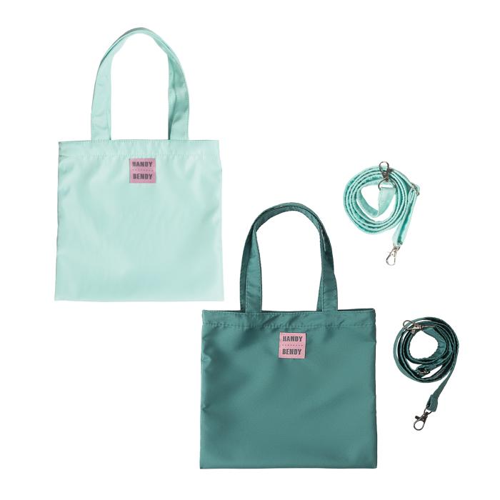 Купить Detskie 2, Комплект из 2 маленьких сумок Handy Bendy, мятный + изумрудный, Детские сумки