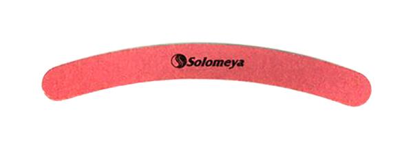 Пилка для искусственных ногтей Solomeya Бумеранг, 100/100