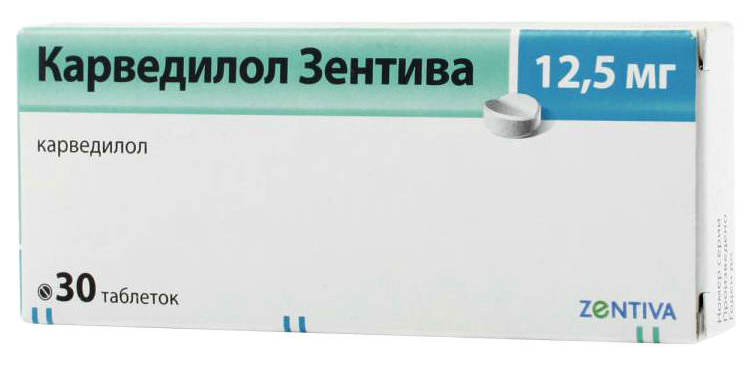 Купить Карведилол Санофи таблетки 12, 5 мг 30 шт., Sanofi Aventis