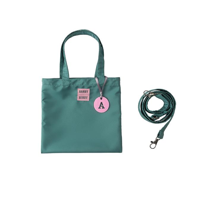 Купить Detskaya s bukvoi, Маленькая сумка Handy Bendy со съемной ручкой и медальоном, изумрудный, Детские сумки